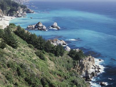 California, Big Sur Coast, the Central Coast Along the Pacific Ocean