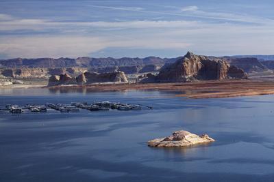 Arizona, Lake Powell and Houseboats at Wahweap Marina