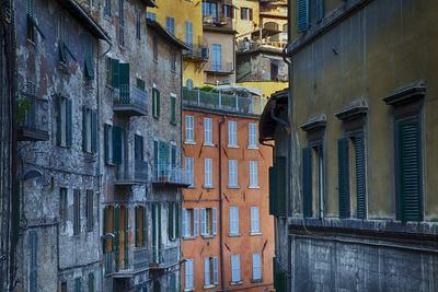 Colorful Building of the Town of Perugia
