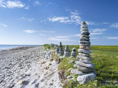 Landscape on the South Uist Island. Scotland