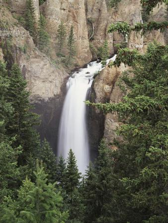 Wyoming, Yellowstone National Park, Tower Falls on Tower Creek