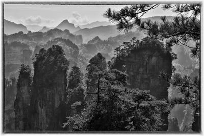 Mountain Landscape, Wulingyuan District, China