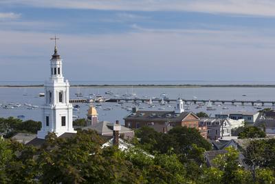 Massachusetts, Cape Cod, Provincetown, View Towards the West End