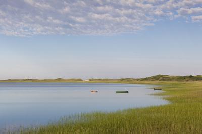 Massachusetts, Cape Cod, Wellfleet, View of the Gut by Great Island