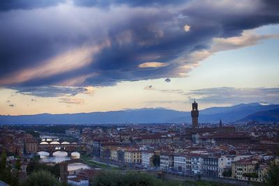 Florence as Viewed from Michael Angelo Overlook Florence