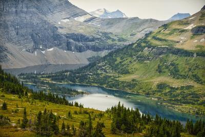 USA, Montana, Glacier National Park, Hidden Lake