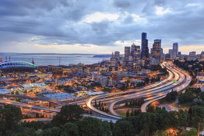 View from Beacon Hill, Pacific Med Center, Seattle, Wa