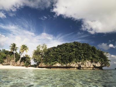 Palau, Micronesia, View of Honeymoon Island