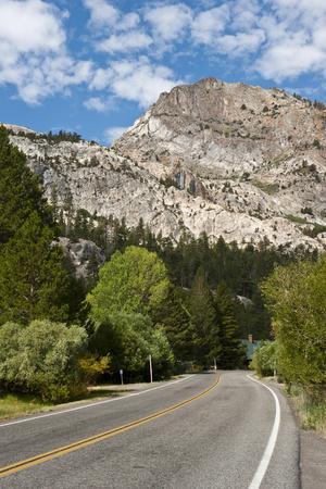 USA, California, Lee Vining, Vistas Along June Lake Loop Road
