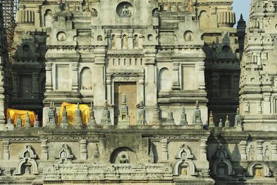 India, Bihar, Bodh Gaya, Mahabodhi Complex, Great Awakening Temple
