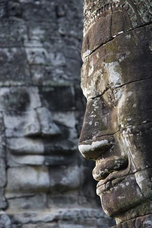 Detail of Some of the 216 Giant Faces of Avalokiteshvara