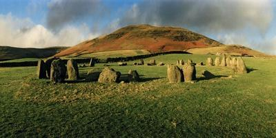 Swinside Stone Circle, a Bronze Age Stone Circle of 55 Stones Set in a 90 Foot Diameter Circle