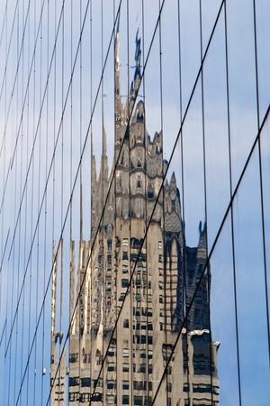 Chrysler Building's Reflection,; Murray Hill, Manhattan, New York, USA