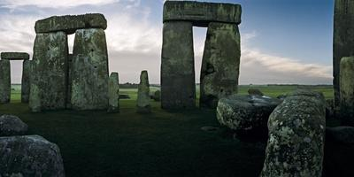 A View from the Center Section of Stonehenge