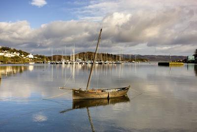 Harbour in Tarbert; Scotland, Uk