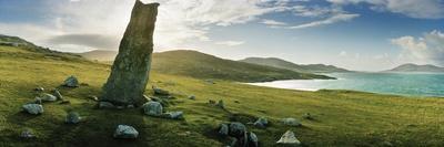 Clach Mhic Leoid (Macleod's Stone), an Ancient Standing Stone Near Scarista