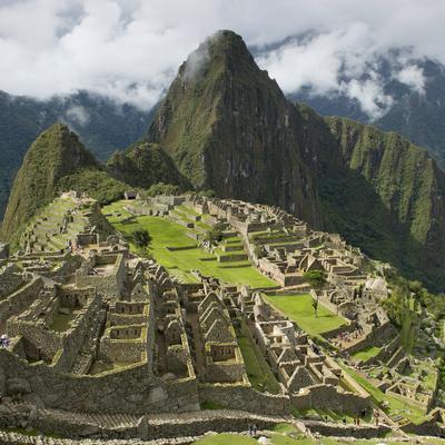 The Historic Inca Site Machu Picchu; Peru
