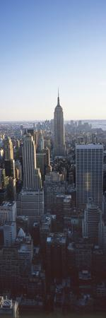 Panoramic View of Empire State Building