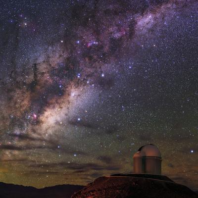 The Milky Way Appears over the European Southern Observatory