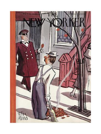 The New Yorker Cover - October 29, 1938