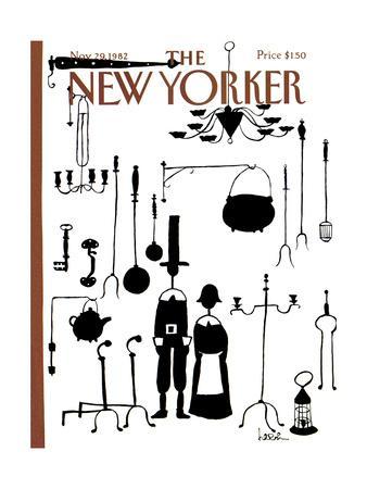 The New Yorker Cover - November 29, 1982