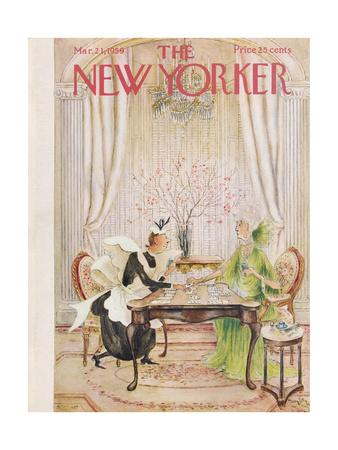 The New Yorker Cover - March 21, 1959