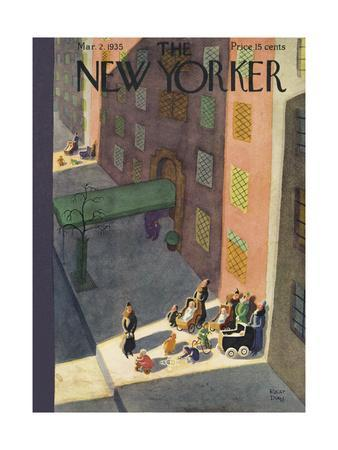 The New Yorker Cover - March 2, 1935