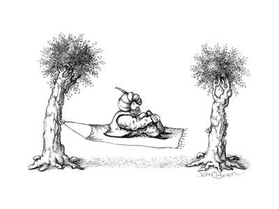 Hammock / Magic carpet - Cartoon