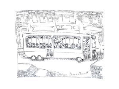 Bus driver - Cartoon