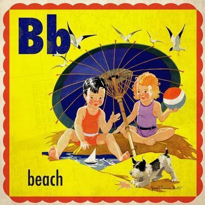 Vintage ABC- B