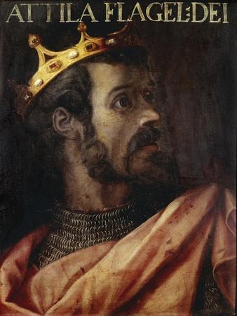 Portrait of Attila the Hun