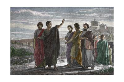 Banishment of Greek Philosopher Aristotle from Athens in 323 BC