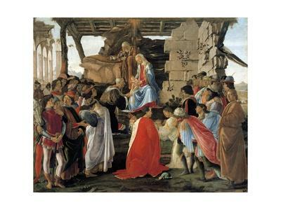 The Adoration of the Magi - Representation of the Medici Family