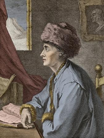 Jean-Jacques Rousseau at Neufchatel