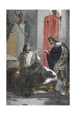 Roman Emperor Septimius Severus Escapes an Assassination Attempt by Poisoning