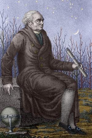 Portrait of William Herschel