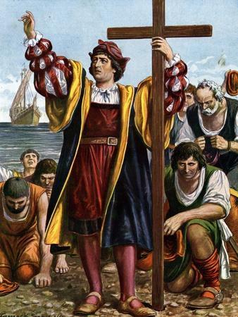 Landfall of Christopher Columbus, 1492