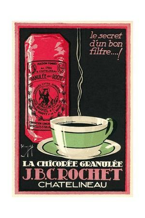 French Chicory Coffee Advertisement