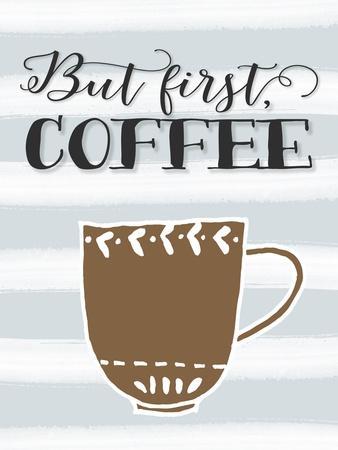 But First Coffee Brown Mug