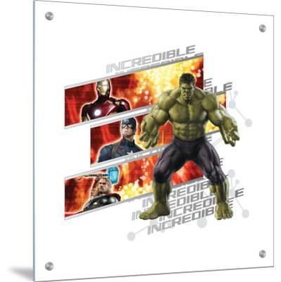 The Avengers: Age of Ultron - Incredible Hulk, Iron Man, Captain America, and Thor