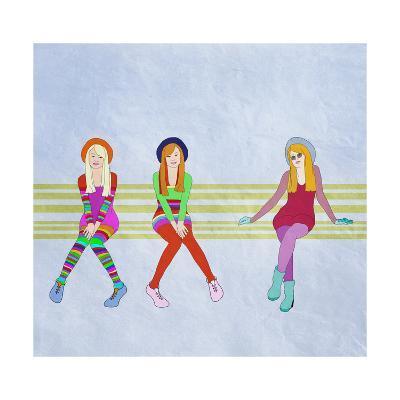 Funny Teen Girls,, Fashion