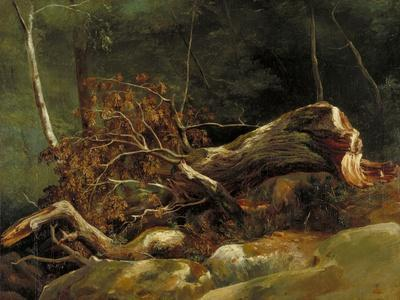 The Fallen Branch, Fontainebleau, C.1816