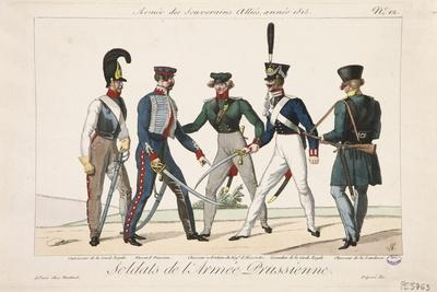 Soldiers of the Prussian Army, Army of the Allied Sovereigns, 1815