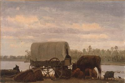 Nooning on the Platte, C.1859