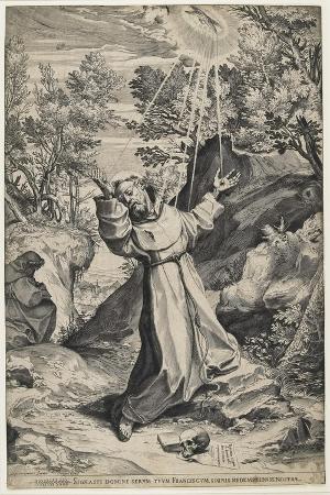 Saint Francis Recieving the Stigmata, 1586