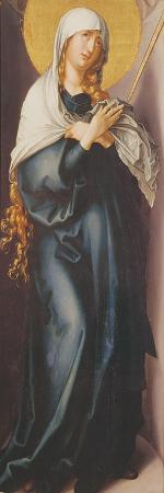 Virgin Mary with Sword