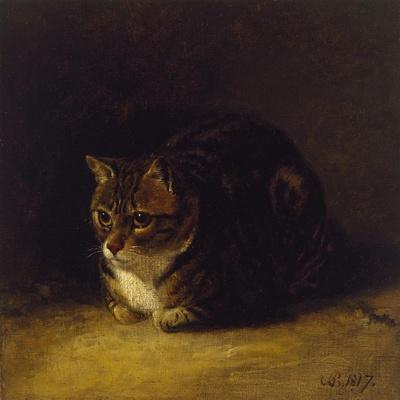 Study of a Cat, 1817