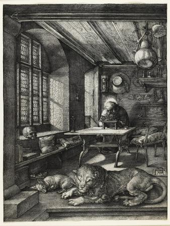 Saint Jerome in His Study, 1514