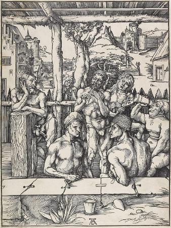 The Men's Bath, C. 1496-1497