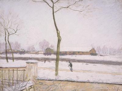 Snow Effect (Effet De Neige) C. 1880-1885